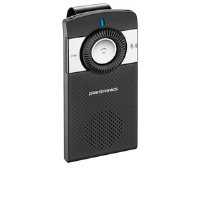 Click to view: Plantronics K100 In Car Speakerphone - Bluetooth, 2 Noise Reducing Microphones, DSP Technology, Voice Alerts, FM Transmitter!