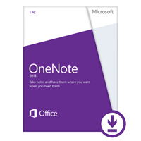 Click to view: MICROSOFT OFFICE ONENOTE HOME AND STUDENT 2013!