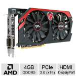 Click to view: MSI AMD RADEON R9 270X GAMING 4GB GDDR5 (Refurbished)!