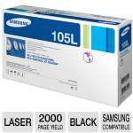 Click to view: Samsung MLT-D105L Black Toner - 2K Yield!