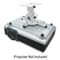 Click to view: Mustang MV-PROJSP-FLAT Flush Projector Mount - White!