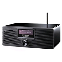 Click to view: Sangean WFR-20 Internet Radio - Network Music Player, Stream Music, WiFi, 4 Alarms, Remote Control!