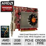 Click to view: VisionTek Radeon R7 240 900648 Video Card 2GB GDDR3, PCI-Express 3.0 (x16) - 900648 - Includes Lifetime Warranty w/Registration - (FREE Game up to $40 value after purchase, limited offer)!