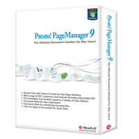 Click to view: PRESTO! PAGEMANAGER 9 PROFESSIONAL!