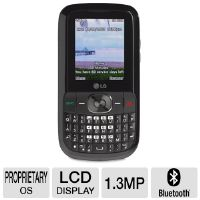 Click to view: Tracfone LG 500G TFLG500GP4DM GSM Cell Phone - QWERTY Keyboard, LCD Color Display, 1.3MP Camera, Web Browser, Bluetooth, mp3 Player, microSD, APP Capable!