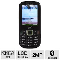 Click to view: Tracfone Samsung S425G TFSAS425GTMP4 GSM Cell Phone - QWERTY Keyboard, LCD Color Display, 2.0MP Camera, Web Browser, Bluetooth, mp3 Player, Video Player, microSD!