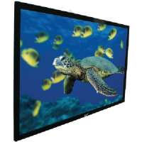 Click to view: ELITE SCREENS R106WH1 EZ FRAME SERIES FIXED FRAME SCREENS (106