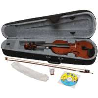 Click to view: EMEDIA MUSIC EV06107 MY VIOLIN STARTER PACK , FULL SIZE!