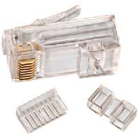 Click to view: IDEAL 85-366 CAT-6 RJ45 MODULAR PLUG CARD OF 25!