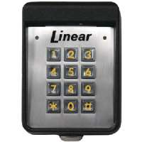 Click to view: LINEAR AK-11 EXTERIOR DIGITAL KEYPAD!