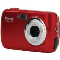 Click to view: VIVITAR V7122-V1-RED-SOL 7.1 MEGAPIXEL V7122-V1 DIGITAL CAMERA (RED)!