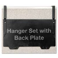Click to view: OFFICEMATE INTERNATNL CORP Filing System Hangers, For Panels, 1-1/4 to 3 Thick, Black!