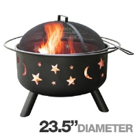 Click to view: Landmann 28345 Big Sky Fire Pit - 23.5