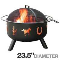 Click to view: Landmann 28346 Big Sky Fire Pit - 23.5