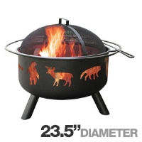 Click to view: Landmann 28347 Big Sky Fire Pit - 23.5