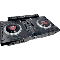 Click to view: Numark  Motorized Computer DJ System with ITCH Software by Serato and FX+!