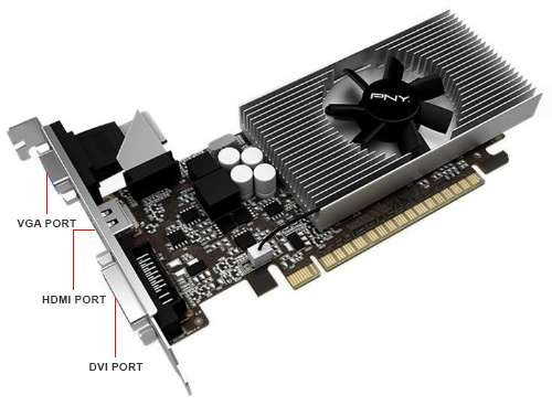 Image Callout - PNY Verto GeForce® GT 730 Video Card