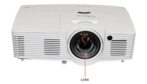 Image Callout - OPTOMA X316ST X316ST XGA FULL 3D SHORT-THROW PROJECTOR