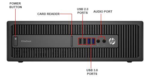 Image Callout - HP EliteDesk 800 G2