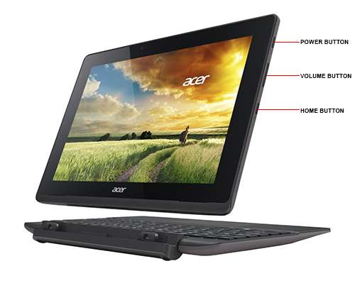 Image Callout - Acer Aspire Switch 10 E SW3-016-10LF - Tablet - with keyboard dock