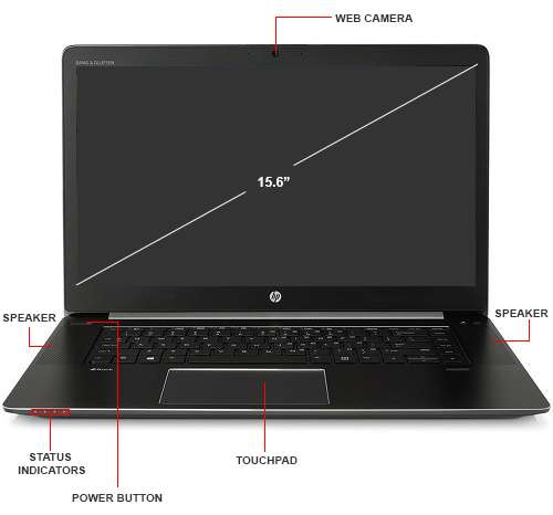 Image Callout - HP ZBook Studio G3 Mobile Workstation