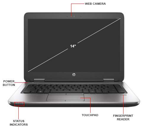Image Callout - HP ProBook 645 G2