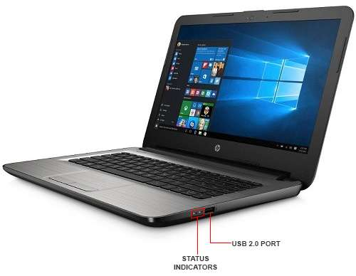 Image Callout - HP 14-an010nr Laptop PC