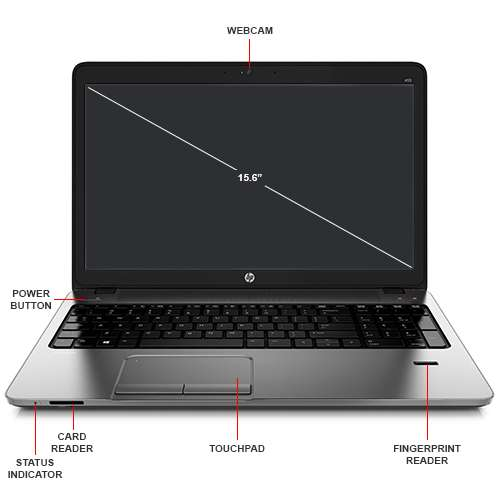 Image Callout - HP Probook 455 G3 Notebook PC