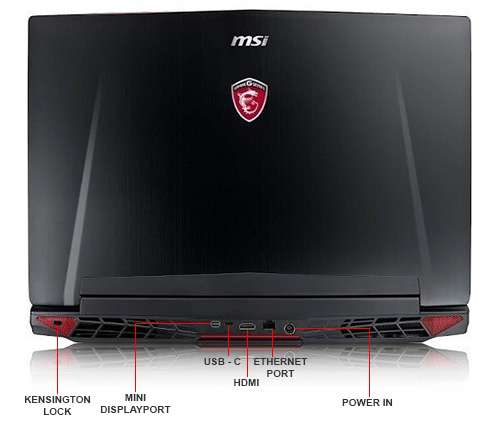 Image Callout - MSI GT72VR Dominator 033 Notebook