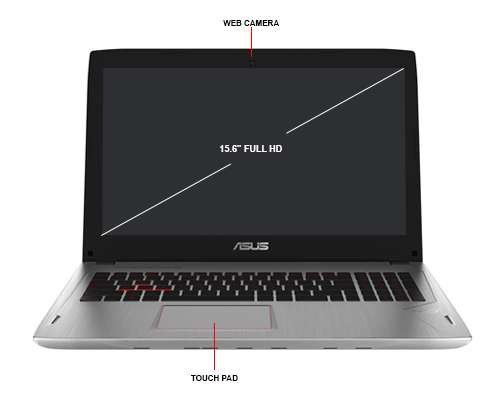 Image Callout - ASUS ROG GL502VM DS74