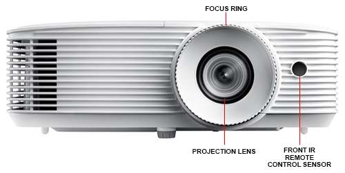 Image Callout - Optoma Bright Projector