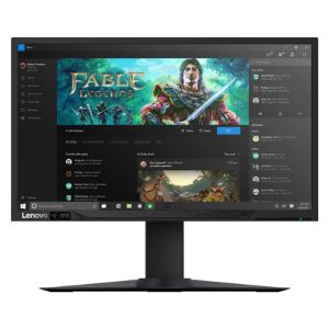 Lenovo Y27h Gaming Curved Monitor - 65C1GCC1US