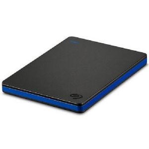 Seagate 4TB Game Drive - For PlayStation 4 USB 3.0 Black with Blue Alu