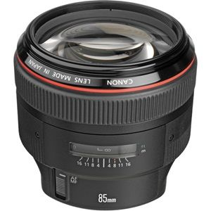Canon EF 85mm f/1.2L II USM Medium Telephoto Lens – 1:1.2 Maximum Aper