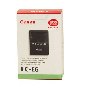 Canon LC-E6 Battery Charger for 5D Mark II – 100-240 VAC 2-prong US Pl