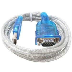 Sabrent SBT-USC6M USB 2.0 to 9-pin Serial Adapter Cable – 6 ft For Cel