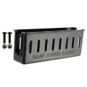 RAM Mounts Laptop Power Supply Caddy – High Strength Composite Black –