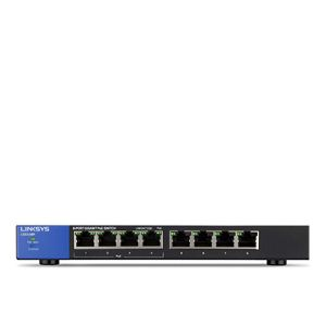Linksys 8 Port Gigabit PoE+ Switch - LGS108P