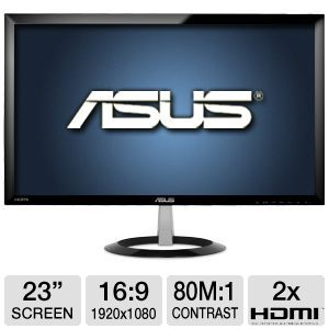 ASUS VX238H 23 Class  Widescreen LED Monitor
