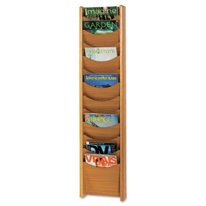 Safco® Solid Wood Wall-Mount Literature