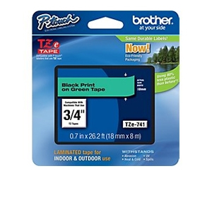 Brother TZe741 Laminated Adhesive Tape (26.2 FT)