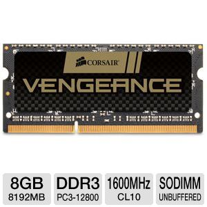 Corsair Vengeance 8GB DDR3 Laptop Memory Module
