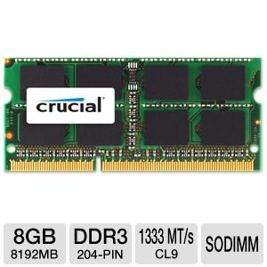 Click here for Crucial 8GB Mac Memory Module prices