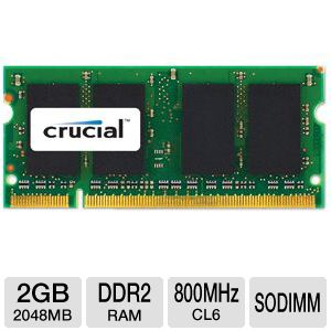 Click here for Crucial 2GB Mac Memory Module prices