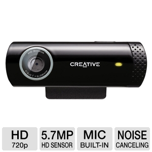 Creative Labs 73VF070000000 Live! Cam Chat Webcam