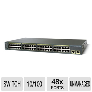 Cisco C2960-48TT-L Switch