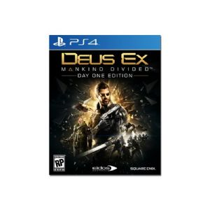 Deus Ex Mankind Divided Day One Edition - Sony