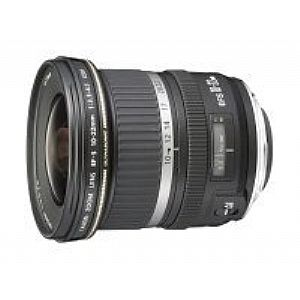 Canon EF-S wide-angle zoom lens - 10 mm - 22 mm