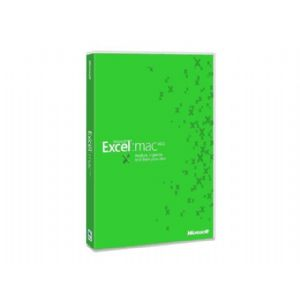 Microsoft Excel 2011 for Mac - License - 1 PC -