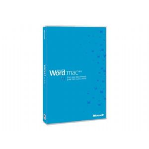 Microsoft Word 2011 for Mac - License - 1 PC -